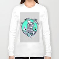 cityscape Long Sleeve T-shirts featuring Cityscape by infloence