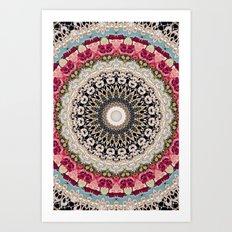 Mandala Hahusheze  Art Print