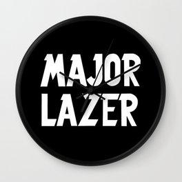 Major Lazer Wall Clock