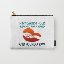 FOUND A PAW Carry-All Pouch