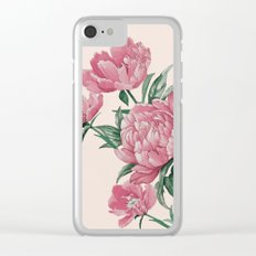 Flowers 22a Clear iPhone Case