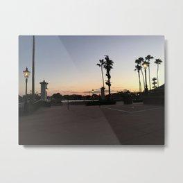 Sunset at a Magical Place Metal Print