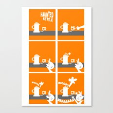 The Haunted Kettle Canvas Print