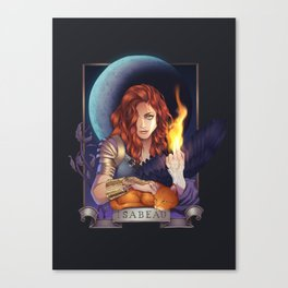 Intro to Isabeau Canvas Print