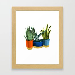 Little Garden Framed Art Print