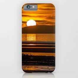 Rhyl Beach Sunset Wales iPhone Case