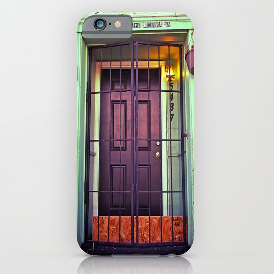 The back door iPhone & iPod Case