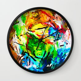 Weeping Woman with the Red Lipstick JVO2020P Wall Clock
