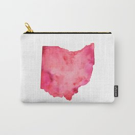 Red Ohio Carry-All Pouch