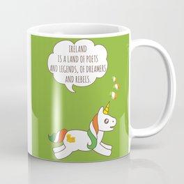 St. Patrick's Day Unicorn 3 Coffee Mug
