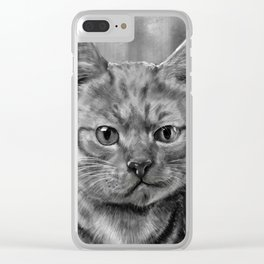 Tricky smile Clear iPhone Case