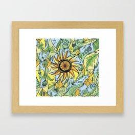 Leaf Love Framed Art Print
