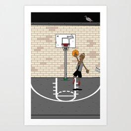 Jump Ball Art Print