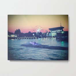 Broadway at the Beach Metal Print