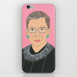 Ruth Bader Ginsberg iPhone Skin