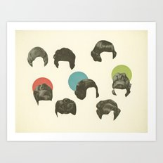 Hair Today, Gone Tomorrow Art Print