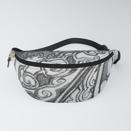 Piano Panel Fanny Pack