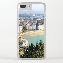 La Concha de San Sebastián Clear iPhone Case