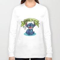 ohana Long Sleeve T-shirts featuring Ohana by KanaHyde