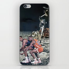 Space Ball - Vintage Collage iPhone Skin