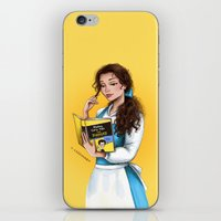 belle iPhone & iPod Skins featuring Belle by C. Cassandra