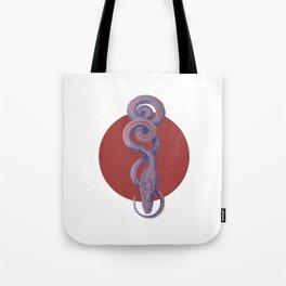 Snake of Combat Tote Bag