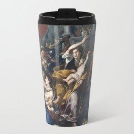 Milan - paint of Massacre of the Innocents from San Eustorgio church Travel Mug