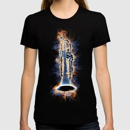 Fire trumpet in concert T-shirt