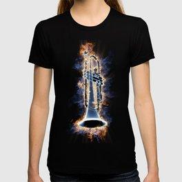 Fire trumpet in concert T-shirt