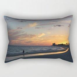 orange beach, alabama sunset Rectangular Pillow