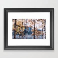 autumn in the rockies ii .  Framed Art Print