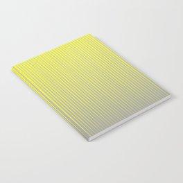 Yellow October Notebook