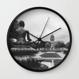 india well Wall Clock