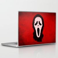 scream Laptop & iPad Skins featuring Scream by Bill Pyle