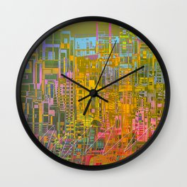 Summer / GALACTIC PLEASURES Wall Clock