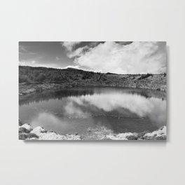 Pau-Pique lake Metal Print
