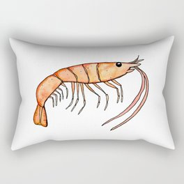 Prawn: Fish of Portugal Rectangular Pillow