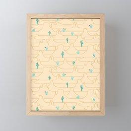 The Call of the Desert Framed Mini Art Print
