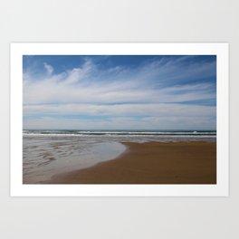Where Sky Meets Sea Art Print