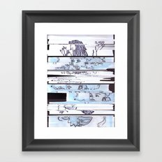 Autistic Remix #002 Framed Art Print