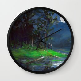 Woods Wall Clock
