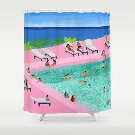 Seaview Shower Curtain