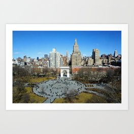 Washington Square Park, NYC Art Print