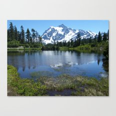 Mount Shuksan in Summer Canvas Print