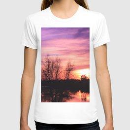 Pink Sky at Dusk T-shirt