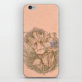 Groot Fan Art iPhone Skin