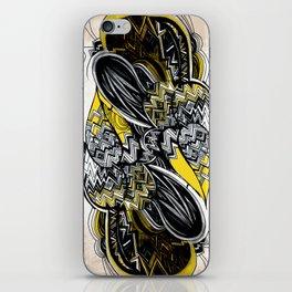 Bird sleeping iPhone Skin