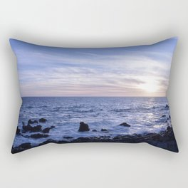 Salsedine al tramonto. Rectangular Pillow