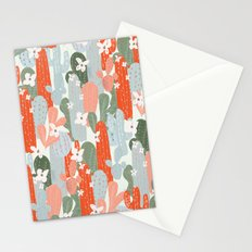 Floral Cactus Stationery Cards