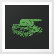 @#$% WAR! Art Print